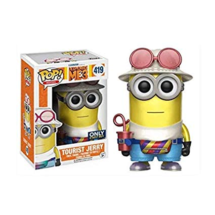 Despicable Me 3 Pop! Vinyl Figures Metallic Tourist Jerry [419]