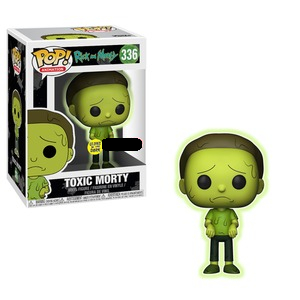 Rick and Morty Pop! Vinyl Figure Toxic Morty [336]