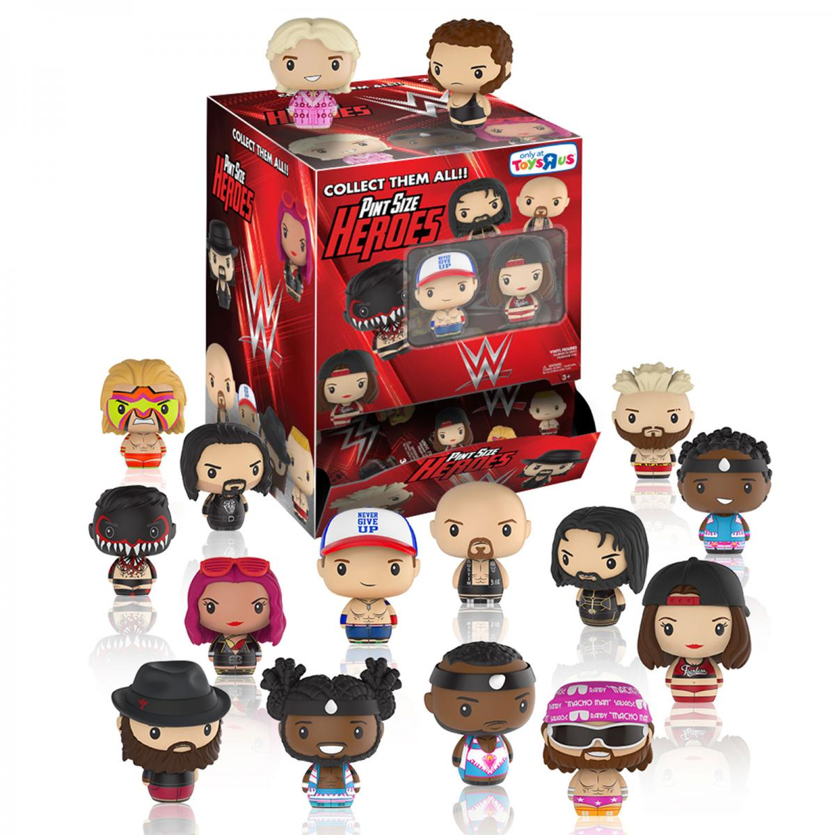 Funko Pint Size Heroes WWE [Toys R Us Exclusive]: (1 Blind Pack)