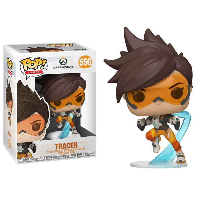 Overwatch 2 Pop! Vinyl Figure Tracer [550] - Fugitive Toys