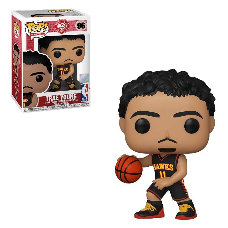 NBA Pop! Vinyl Atlanta Hawks Trae Young (Alternate Uniform) [96]