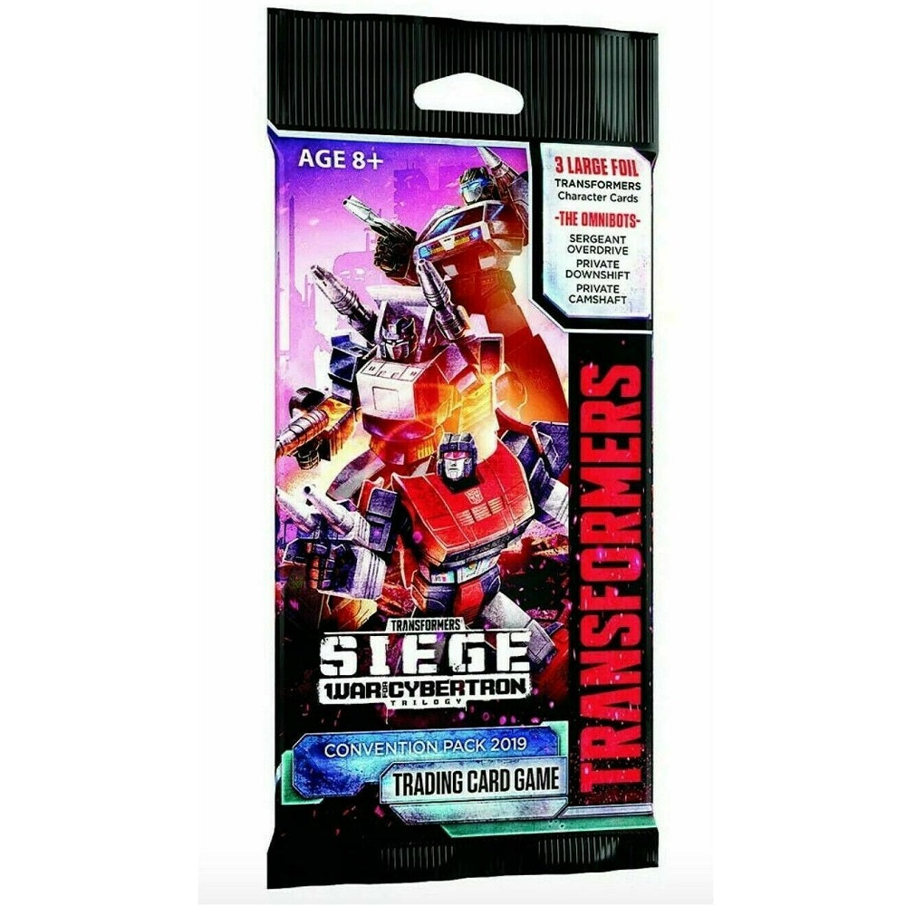 Transformers Siege War for Cybertron Convention Pack Trading Card Game [2019 SDCC] - Fugitive Toys