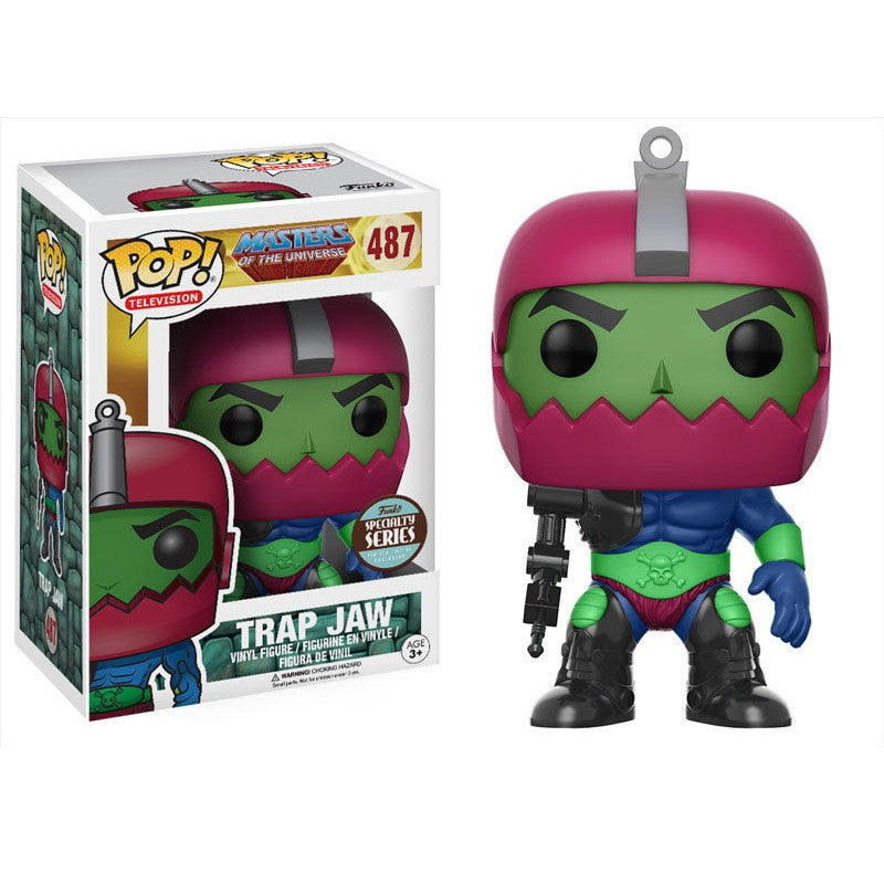 Masters of the Universe Pop! Vinyl Figure Trap Jaw - Fugitive Toys