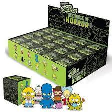 Kidrobot The Simpsons Tree House of Horrors Mini Series: (Case of 20)
