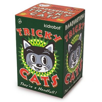 Kidrobot Rambunctious Tricky Cats: (1 Blind Box)