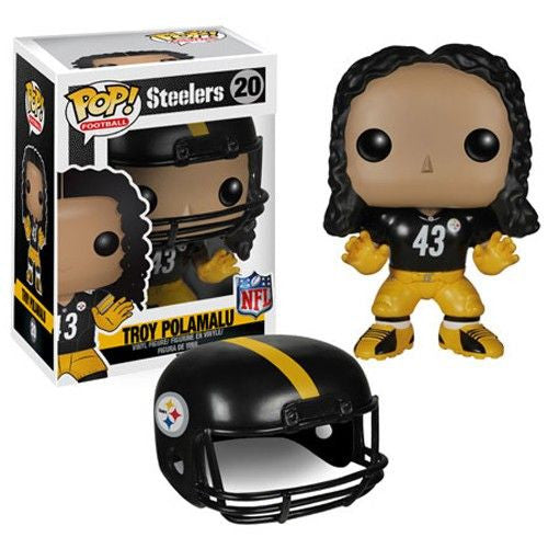 NFL Pop! Vinyl Figure Troy Polamalu [Pittsburgh Steelers]