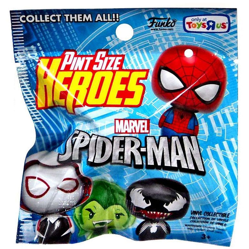 Funko Pint Size Heroes Marvel Spider-man [Toys R Us Exclusive]: (1 Blind Pack)