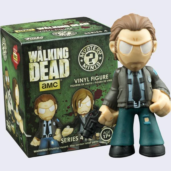 Funko Mystery Minis The Walking Dead Series 4: (1 Blind Box)