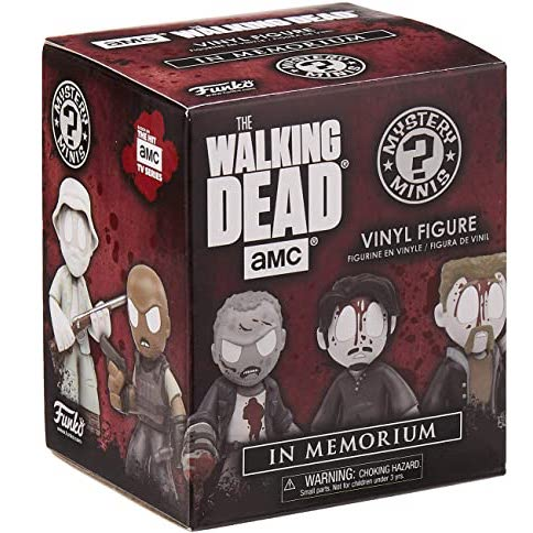 Funko Mystery Minis The Walking Dead In Memoriam: (1 Blind Box) - Fugitive Toys