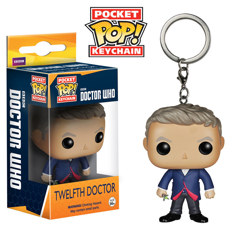 Doctor Who Pocket Pop! Keychain Twelfth Doctor