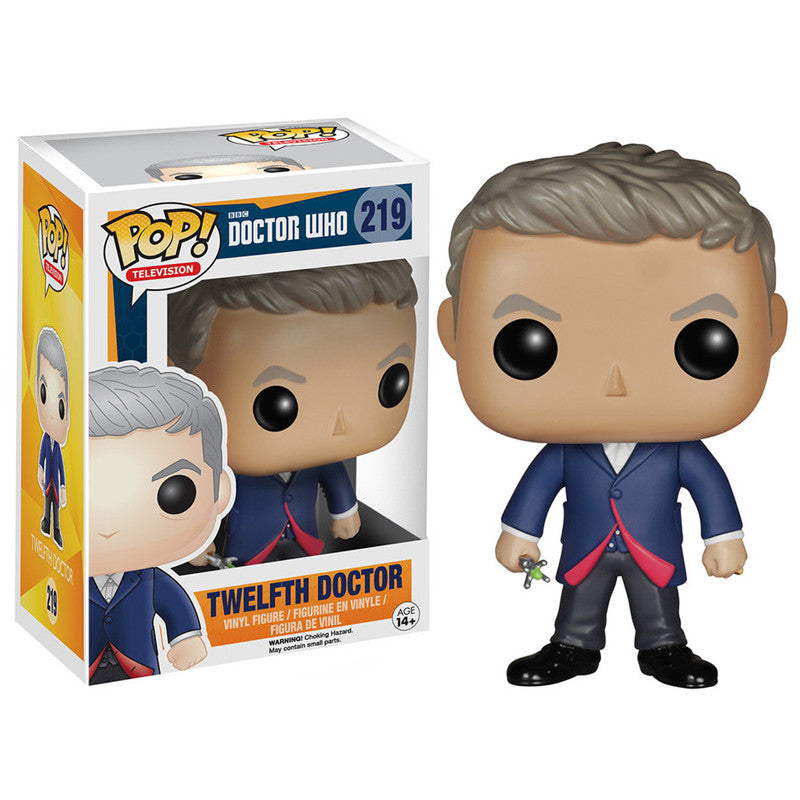 Doctor Who Pop! Vinyl Figure Twelfth Doctor