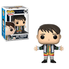 Friends Pop! Vinyl Figure Joey Tribbiani in Chandler's Clothes [701] - Fugitive Toys
