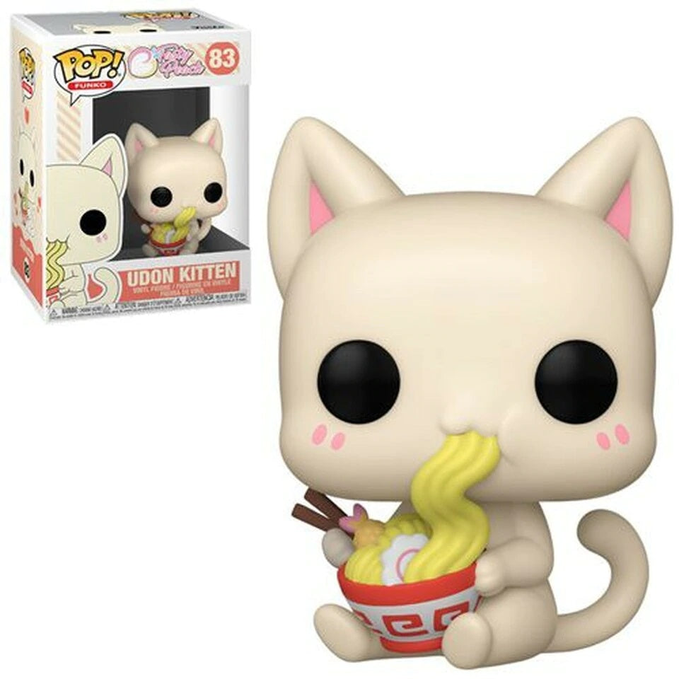 Funko Pop! Vinyl Figure Tasty Peach Udon Kitten [83]