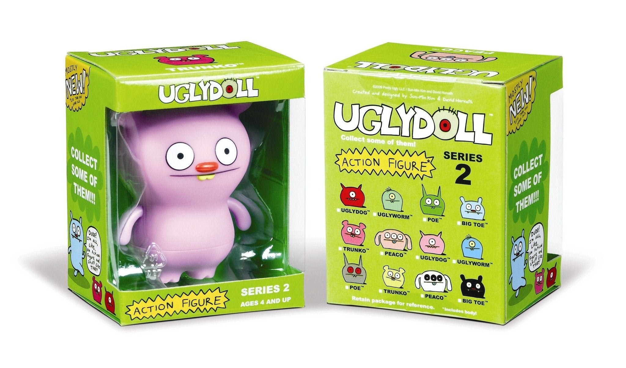 Uglydoll Action Figures Series 2 (Case of 12) - Fugitive Toys