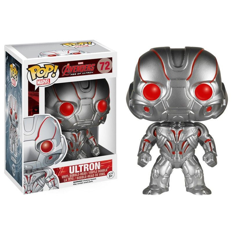 Marvel Avengers: Age of Ultron Pop! Vinyl Bobblehead Ultron [72] - Fugitive Toys