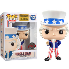 American History Pop! Vinyl Figure Uncle Sam [12]