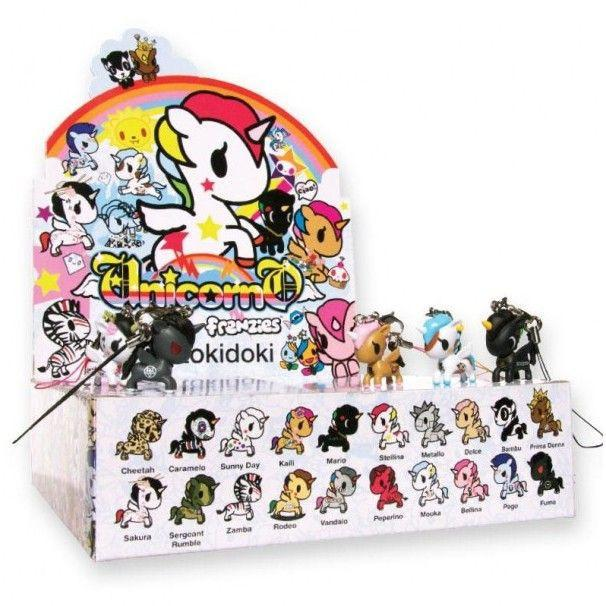 Tokidoki Unicorno Frenzies: (Case of 30)