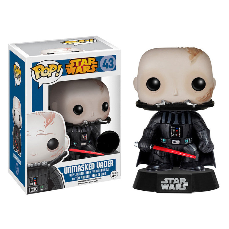 Star Wars Pop! Vinyl Bobblehead Unmasked Darth Vader