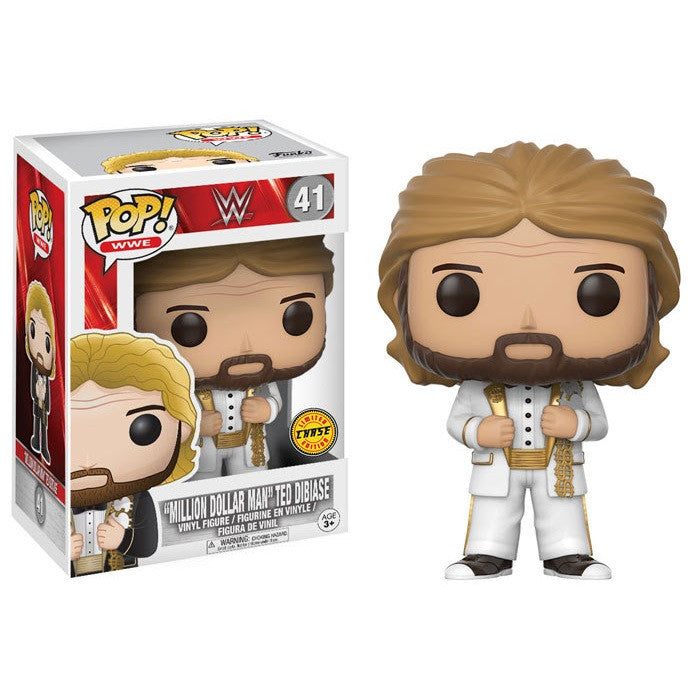 WWE Pop! Vinyl Figure Million Dollar Man Ted Dibiase (Chase)