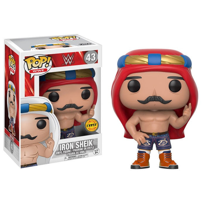 WWE Pop! Vinyl Figure Iron Sheik (Chase)