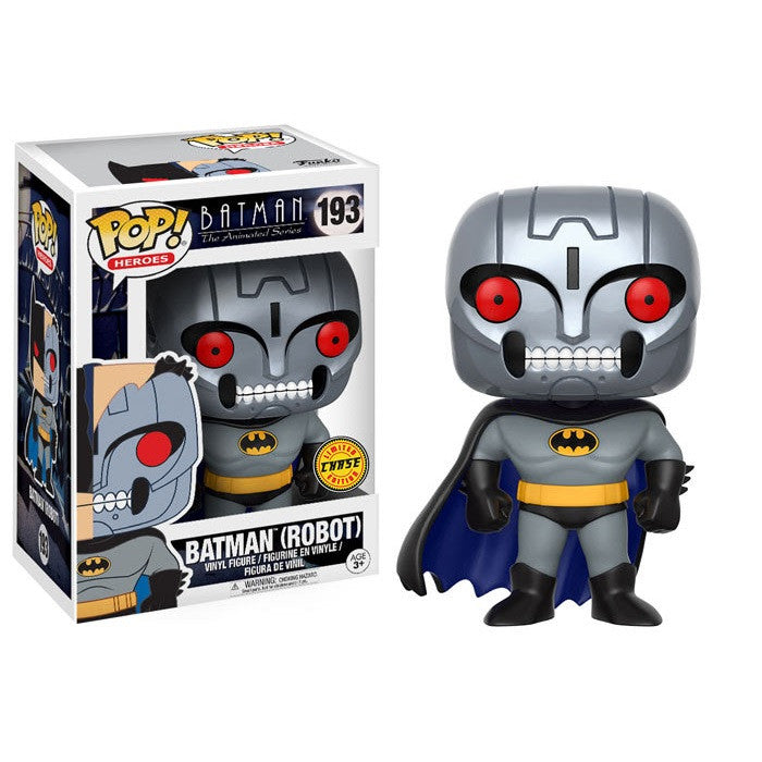 Batman the Animated Series Pop! Vinyl Figure Batman Robot (Chase) [193]
