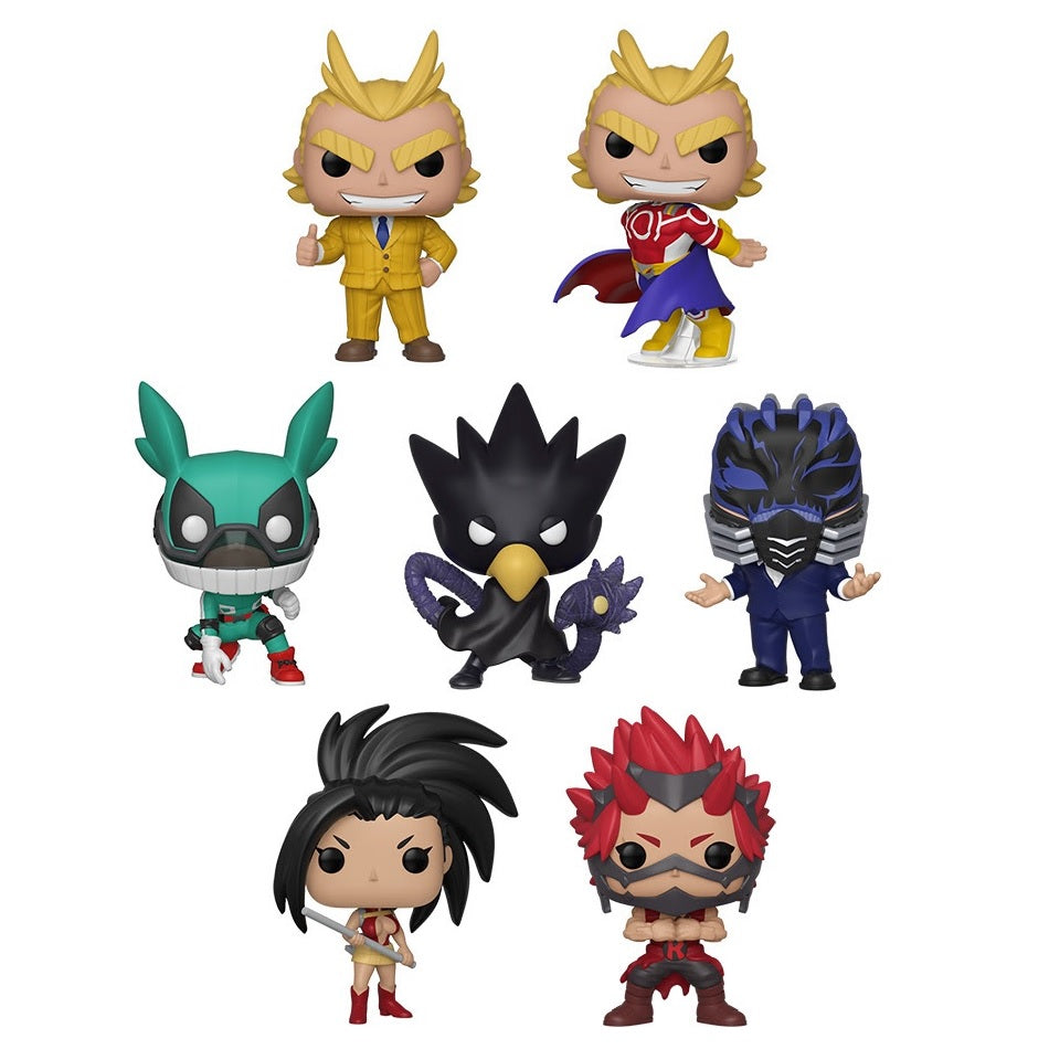 My Hero Academia Series 3 Pop Vinyl Figures [Set of 7]