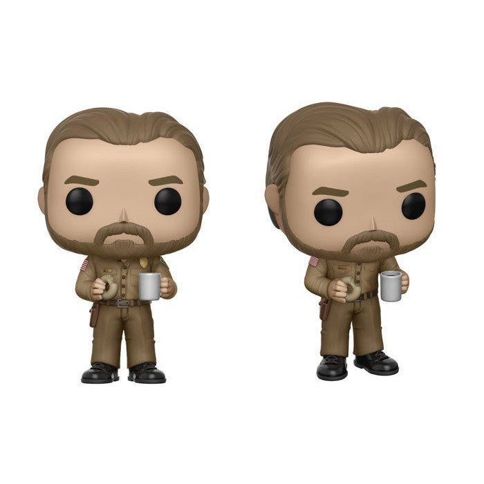 Stranger Things Pop! Vinyl Figure Hopper with Donut (Chase)