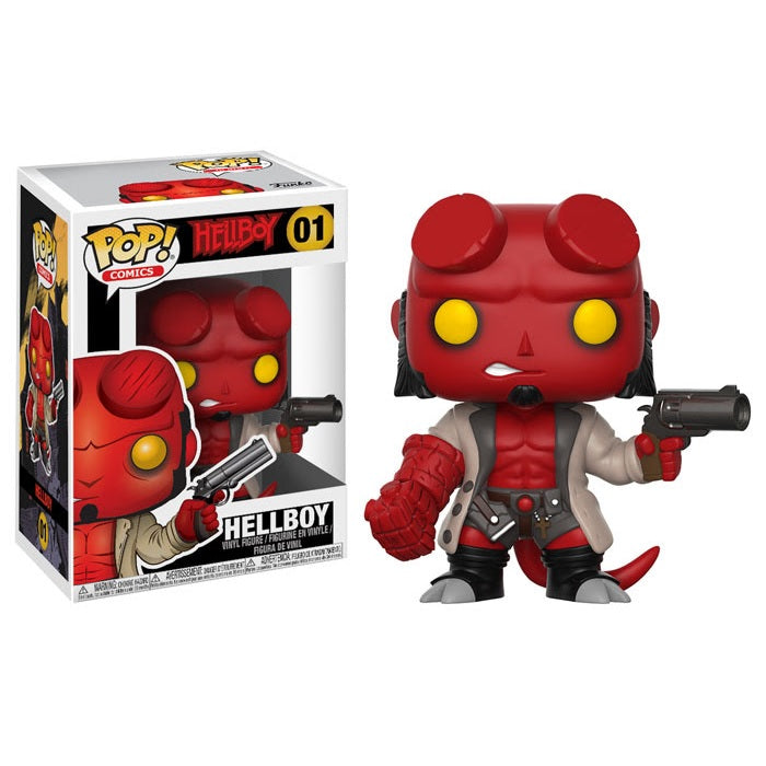 Comics Pop! Vinyl Figure Hellboy [Hellboy] [01]