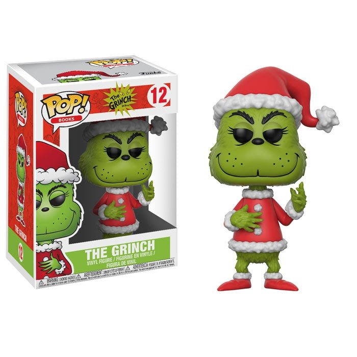 Books Pop! Vinyl Figure The Grinch [Dr. Seuss The Grinch] [12]