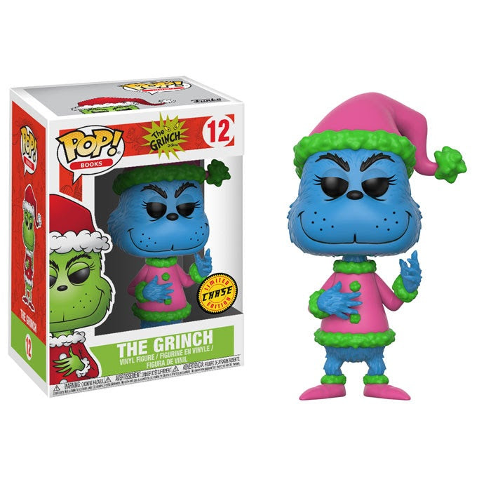 Books Pop! Vinyl Figure The Grinch (Chase) [Dr. Seuss The Grinch] [12]