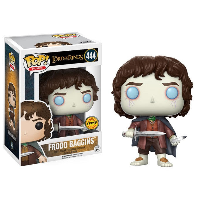 Movies Pop! Vinyl Figure Frodo Baggins (Chase) [Lord of the Rings] - Fugitive Toys