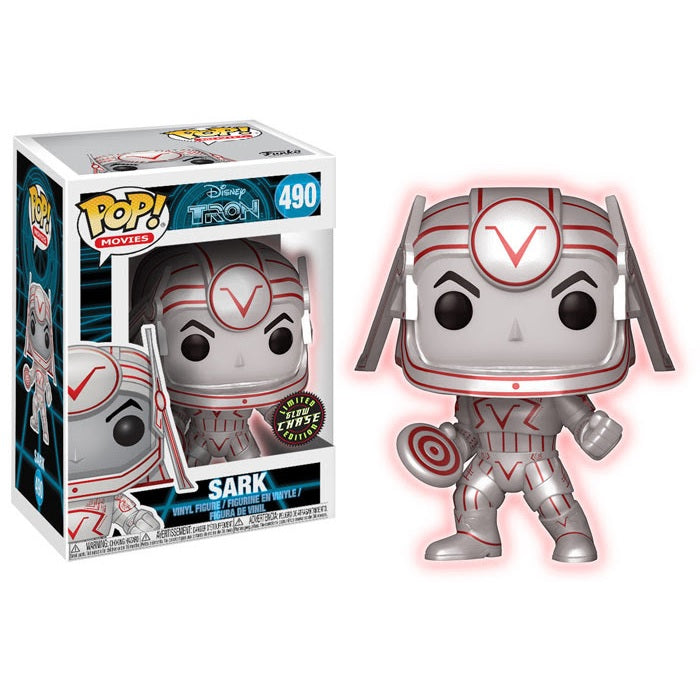 Movies Pop! Vinyl Figure Sark (Chase) [Tron] [490]