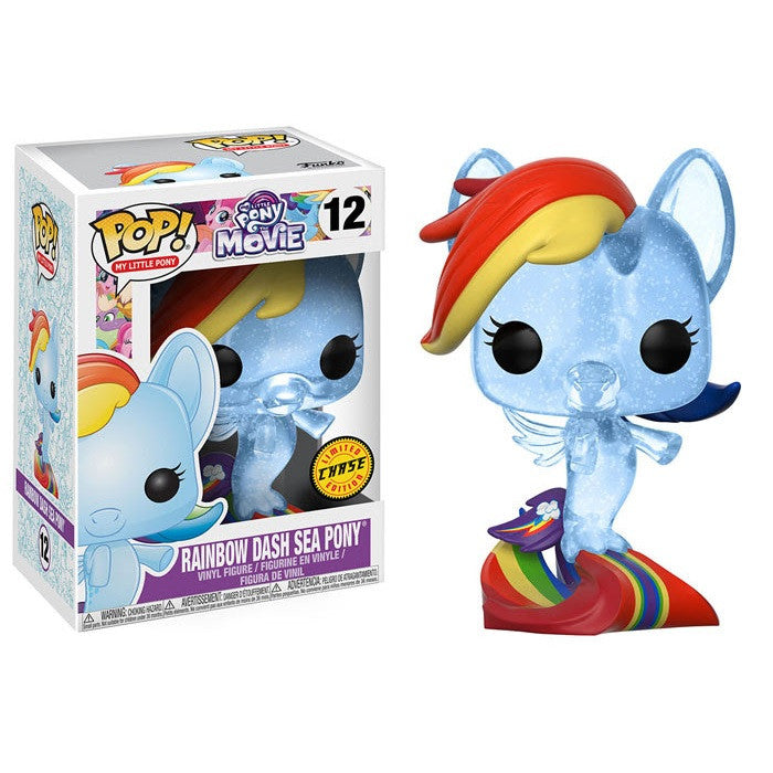 [Preorder] My Little Pony Pop! Vinyl Figure Rainbow Dash Sea Pony (Chase) [12]