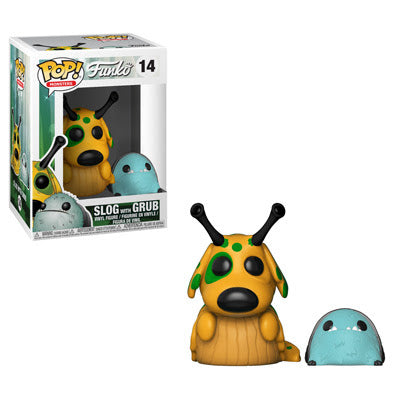 Monsters Pop! Vinyl Figure Slog with Grub [14]