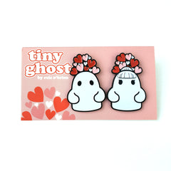 Bimtoy Tiny Ghost Pins [Valentines 2 Pack] [LE200] - Fugitive Toys