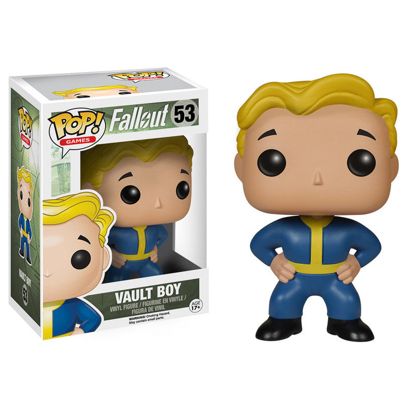 Fallout Pop! Vinyl Figure Vault Boy - Fugitive Toys