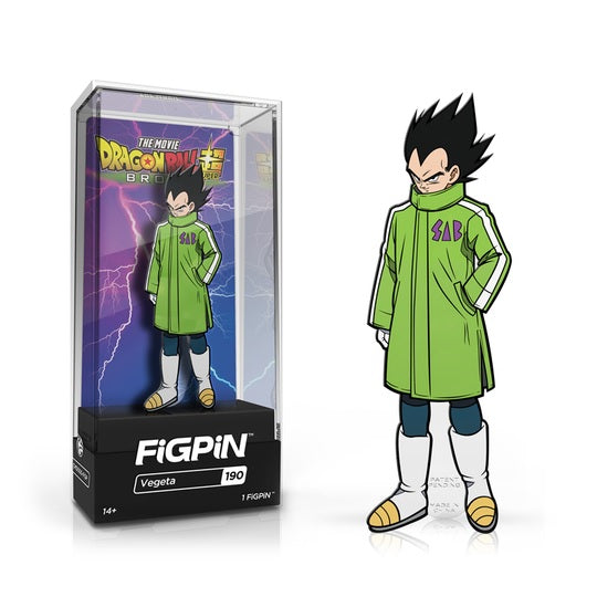 Dragon Ball Super: Broly FiGPiN Enamel Pin Vegeta [190]