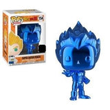 Dragon Ball Z Pop! Vinyl Figure Super Saiyan Vegeta (Blue Chrome) (NYCC 2018 Exclusive) [154] - Fugitive Toys