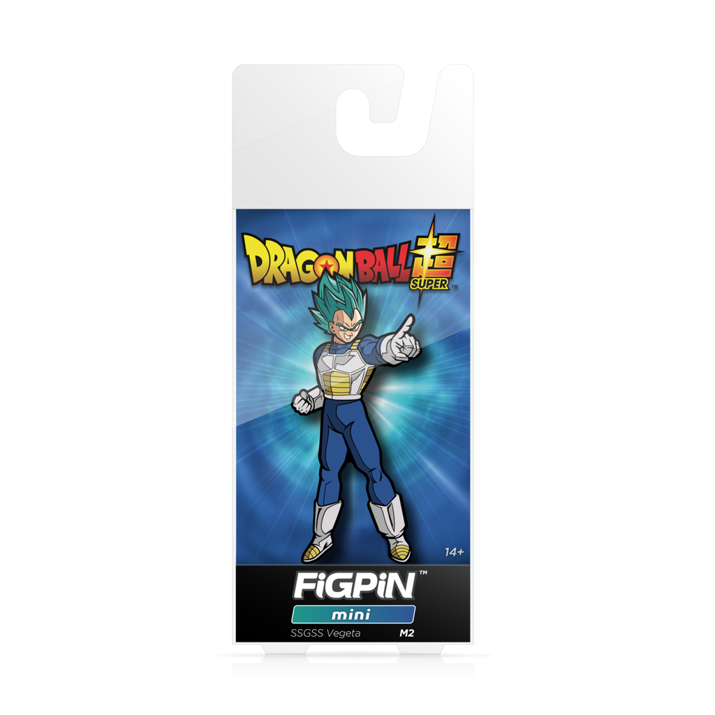 Dragon Ball Super: FiGPiN Mini Enamel Pin Super Saiyan God Super Saiyan Vegeta [M2]