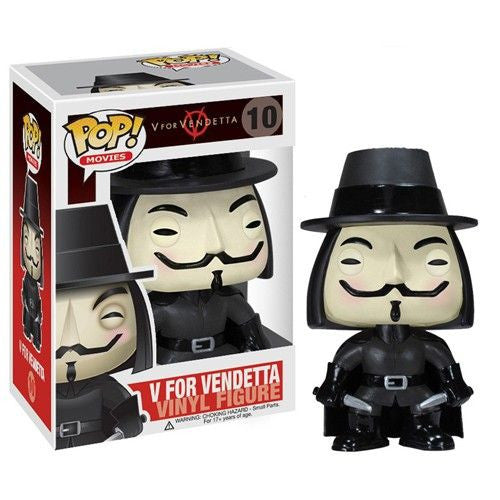 Movies Pop! Vinyl Figure V for Vendetta