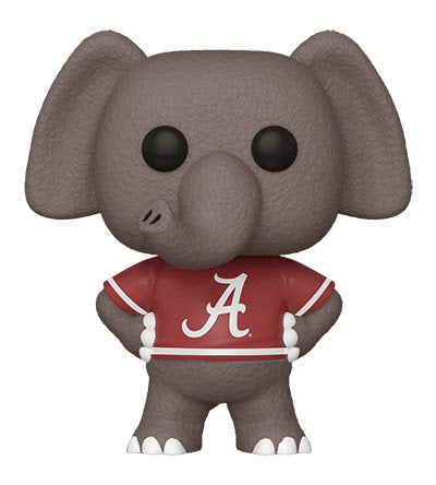 College Pop! Vinyl Figure Alabama Big Al (Home Red A Jersey) [01]