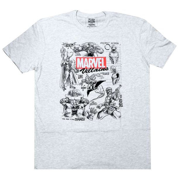 Pop! Tees Marvel Collectors Corp Villains (Medium)