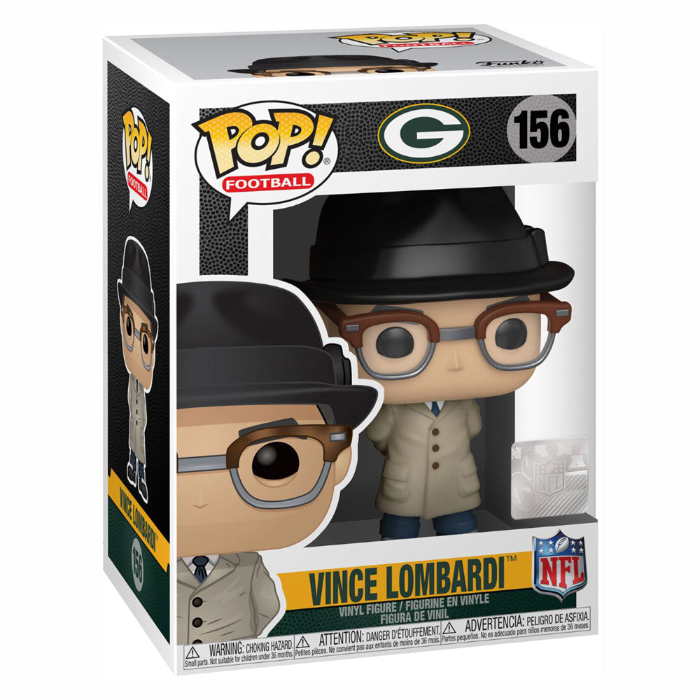 NFL Legends Pop! Vinyl Figure Vince Lombardi (Packers) [156]