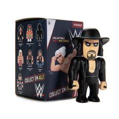 Kidrobot x WWE Collectible Vinyl Mini Series: (1 Blind Box) - Fugitive Toys