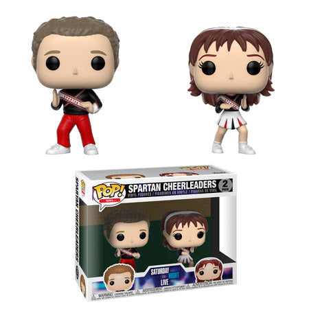 Saturday Night Live Pop! Vinyl Figure Spartan Cheerleaders [2 Pack]