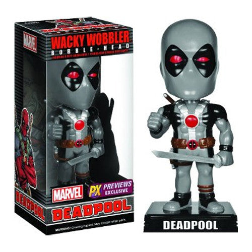 Wacky Wobbler Bobble-head: X-Force Deadpool [Previews Exclusive]