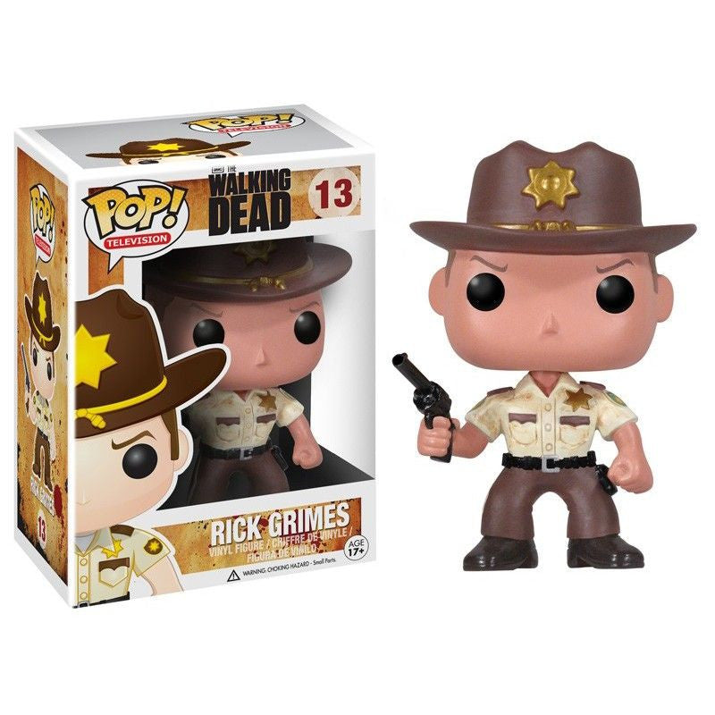 The Walking Dead Pop! Vinyl Figure Rick Grimes