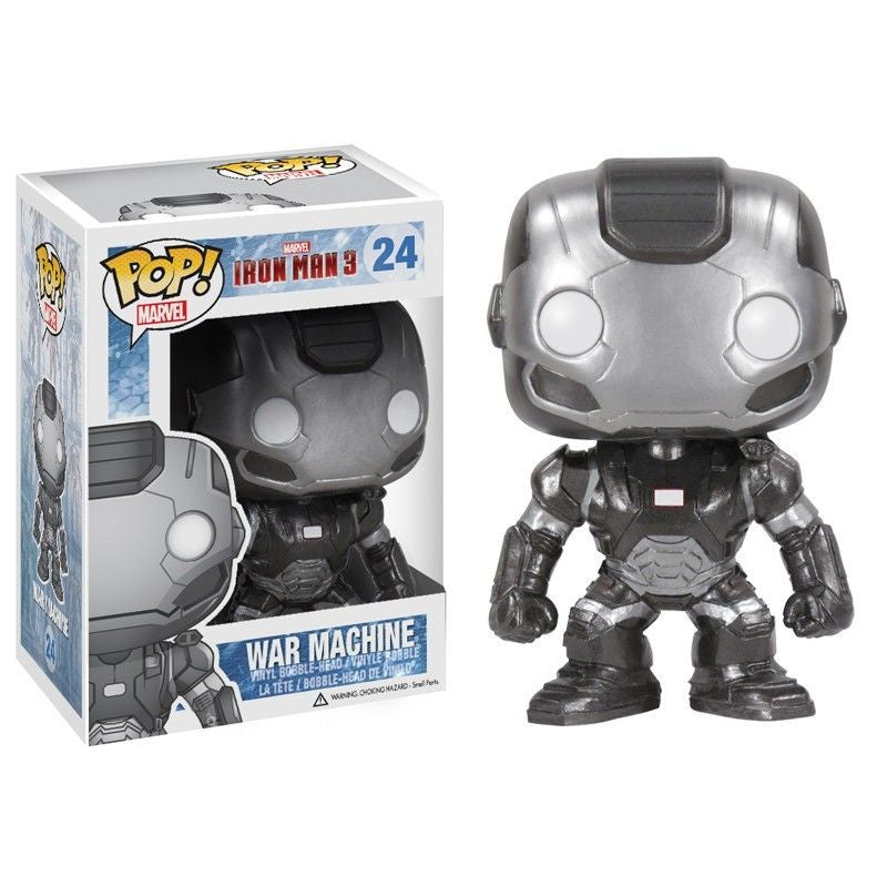 Marvel Iron Man 3 Pop! Vinyl Bobblehead War Machine [24]