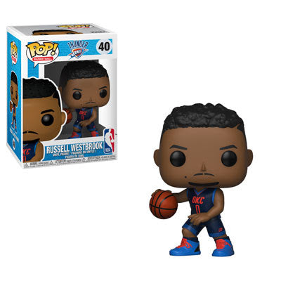 NBA Pop! Vinyl Figure Russell Westbrook [Oklahoma City Thunder] [40]