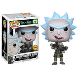 Rick and Morty Pop! Vinyl Figure Weaponized Rick (Chase)